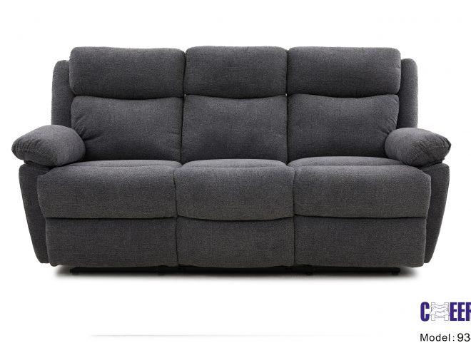 ספה תלת מושבית עם ריקליינר