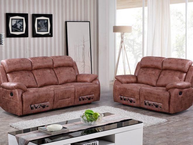 ספה עם ריקליינר